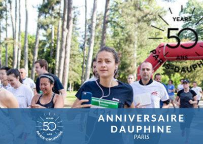 Anniversaire Université Dauphine